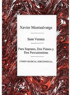 Xavier Montsalvatge: Sum Vermis Books | Soprano, Piano, Percussion