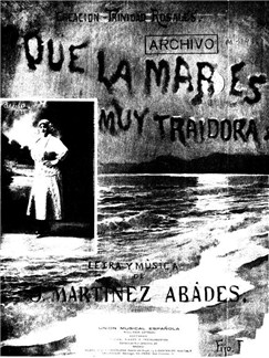 Juan Martinez Abades: Que La Mar Es Muy Traidora Books | Voice, Piano Accompaniment