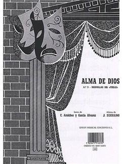 Serrano Alma De Dios No.3 Seguidillas Vce/pf Books | Voice
