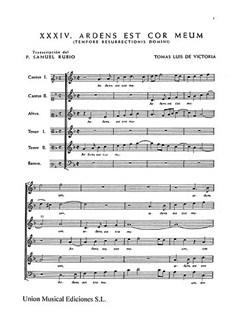 Tomás Luis de Victoria: 52 Motets Vol.3 Libro | SATB