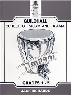 Guildhall Percussion: Timpani Pieces Grades 1 - 5 2004 - 2006 Books | Percussion