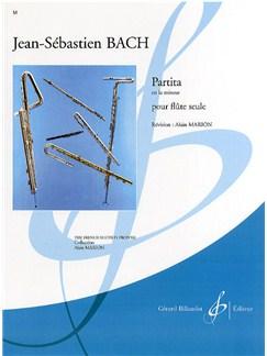 J.S. Bach: Partita In A Minor Books   Flute