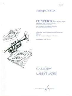 Giuseppe Tartini: Concerto In D (Trumpet) Books | Trumpet, Piano Accompaniment