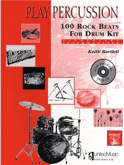 Play Percussion: 100 Rock Beats For Drum Kit (Book/CD) Books and CDs | Drums, Percussion