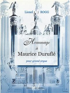 Lionel Rogg: Hommage A Maurice Durufle Books | Organ