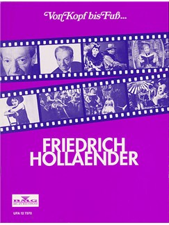 Von Kopf Bis Fuss... Friedrich Hollaender Books | Voice, Piano Accompaniment