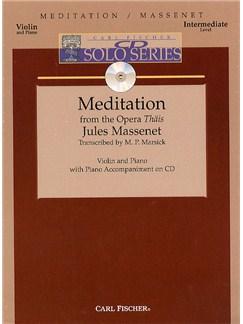 Jules Massenet: Meditation Books | Violin, Piano Accompaniment