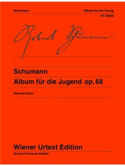 Robert Schumann: Album For The Young Op.68  (Wiener Urtext Edition) Books | Piano