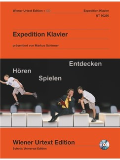 Expedition Piano - Easy Piano Pieces From Bach To Schoenberg (Book/CD) Books | Piano