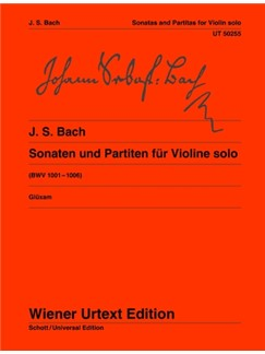 J.S. Bach: Sonatas And Partitas BWV 1001-1006 Books | Violin