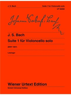 J.S. Bach: Suite I G Major BWV 1007 Books | Cello
