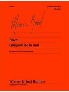 Maurice Ravel: Gaspard De La Nuit - 3 Poemes Pour Piano D'Après Aloysius Bertrand Books | Piano