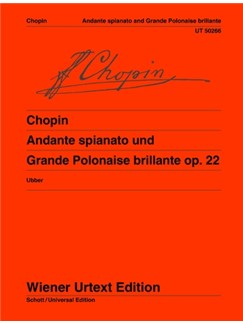 Frédéric Chopin: Andante Spianato And Polonaise Brillante Op. 22 Books | Piano