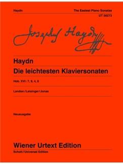 Joseph Haydn: Die Leichtesten Klaviersonaten Hob. XVI:7, 9, 4, 8 Books | Piano