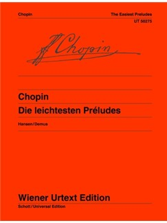 Frédéric Chopin: Easy Preludes Op. 28/4, 6, 7, 9, 15, 20 Books | Piano