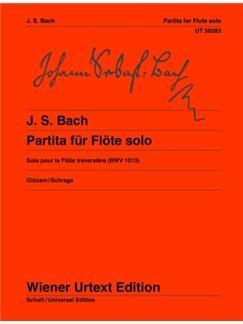 J.S. Bach: Partita A Minor BWV 1013 Books | Flute