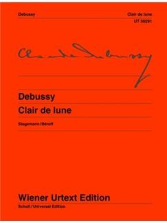 Claude Debussy: Clair De Lune From: Suite Bergamasque Books | Piano