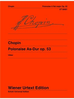 Frédéric Chopin: Polonaise Op. 53 In A-flat Books | Piano