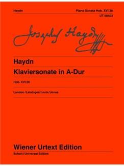 Joseph Haydn: Sonata A major Hob. XVI:26 Books | Piano