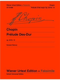 Frédéric Chopin: Prelude Op. 28/15 Books | Piano