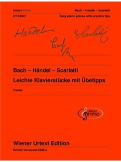 Urtext Primo Vol. 1: Bach - Händel - Scarlatti - Easy Piano Pieces With Practice Tips Books | Piano