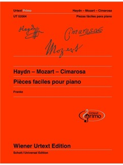 Urtext Primo Vol. 2: Haydn - Mozart - Cimarosa - Easy Piano Pieces With Practice Tips (Spanish Edition) Books | Piano