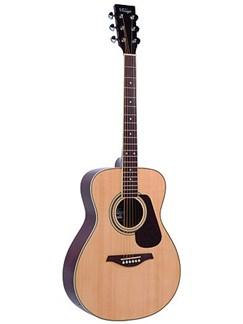 Vintage: V300 Series Folk Guitar (Natural) Instruments | Acoustic Guitar
