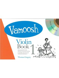 Vamoosh Violin Book 1 Book & CD Books and CDs | Violin