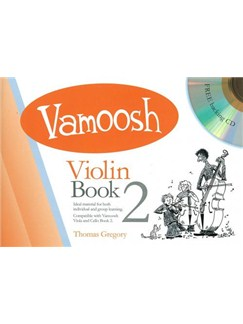 Vamoosh Violin Book 2 Book & CD Books and CDs | Violin