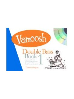 Vamoosh Double Bass Book 1 Book & CD Books | Double Bass