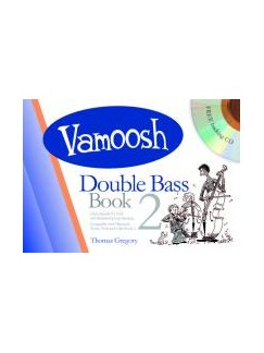 Vamoosh Double Bass Book 2 Book & CD Books and CDs | Double Bass