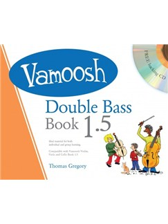 Vamoosh Double Bass Book 1.5 (Book/CD) Books and CDs | Double Bass