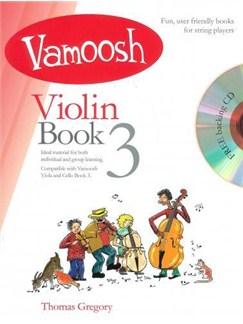 Vamoosh Violin Book 3 Book & CD Books and CDs | Violin