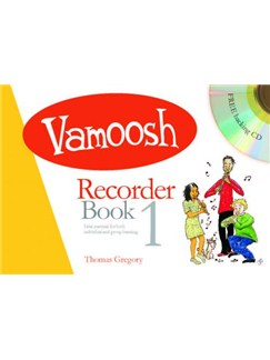 Vamoosh: Recorder Book 1 (Book/CD) Books and CDs | Recorder