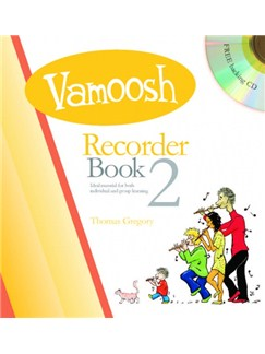 Vamoosh Recorder Book 2 (Book/CD) Books and CDs | Recorder