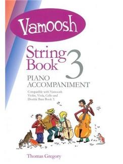 Vamoosh String Book 3 Piano Accompaniment Books and CDs | Piano Accompaniment