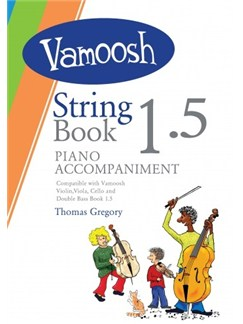 Vamoosh String Book 1.5 Piano Accompaniments Books | Piano