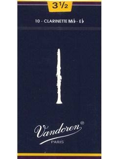 Vandoren: V20 Clarinet Reed 3.5 (Box of 10)  | Clarinet