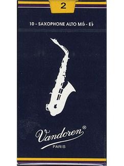 Vandoren: V25 Alto Saxophone Reed 2 (Box of 10)  | Alto Saxophone