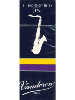 Vandoren: V26 Tenor Saxophone Reed 1.5 (Box of 5)  | Tenor Saxophone