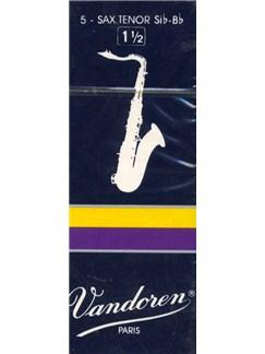 Vandoren: V26 Tenor Saxophone Reed 1.5 (Box of 5)  | Tenor Saxophone