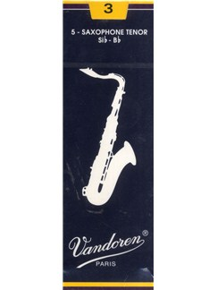 Vandoren: V26 Tenor Saxophone Reed 3 (Box of 5)  | Tenor Saxophone