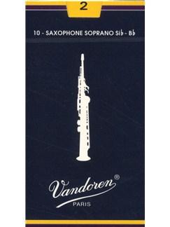 Vandoren: V29 Soprano Saxophone Reed 2 (Box of 10)  | Soprano Sax