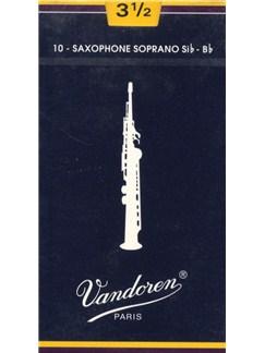 Vandoren: V29 Soprano Saxophone Reed 3.5 (Box of 10)  | Soprano Sax