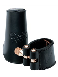 Vandoren Leather Ligature And Cap: Tenor Saxophone  | Tenor Saxophone