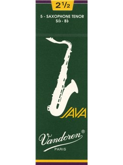 Vandoren: JV26 Tenor Saxophone Reed 2.5 (Box of 5)  | Tenor Saxophone