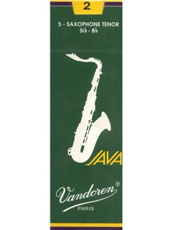 Vandoren: JV26 Tenor Saxophone Reed 2 (Box of 5)  | Tenor Saxophone