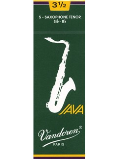 Vandoren: JV26 Tenor Saxophone Reed 3.5 (Box of 5)  | Tenor Saxophone
