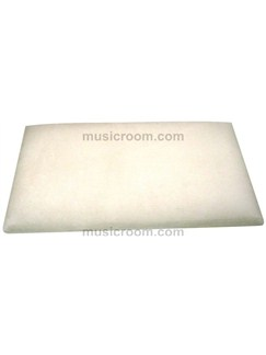 Stagg: Piano Bench Top - Beige Velvet  | Piano, Digital Piano