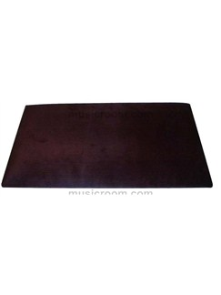 Stagg: Piano Bench Top - Brown Velvet  | Piano, Digital Piano